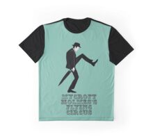 Mycroft Holmes Minister of Silly Walks Graphic T-Shirt