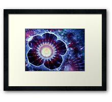 Fantasy spring flower Framed Print