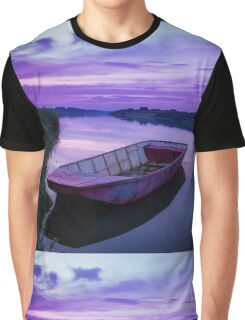 Twilight Time on Lake Graphic T-Shirt