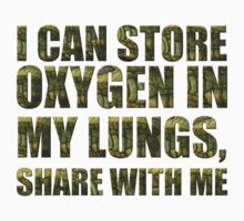 I can store oxygen in my lungs Kids Clothes