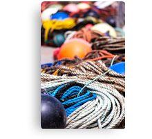 fishing  equipment Canvas Print