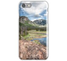 View from East Inlet Valley Trail Rocky Mountain National Park iPhone Case/Skin