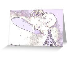 Hindenburg - Psychedelic Greeting Card
