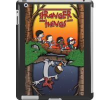 Calvin and Hobbes in the Upside Down iPad Case/Skin