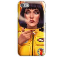 Uma Thurman Kill Fiction iPhone Case/Skin