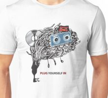 "MUSIC - ""PLUG YOURSELF IN"" Unisex T-Shirt"