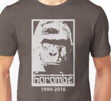 RIP Harambe 1999-2016 Unisex T-Shirt