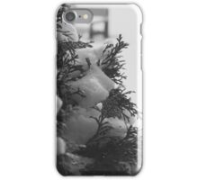 Coniferous Tree with Snow iPhone Case/Skin