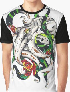Rosey tentacles Graphic T-Shirt