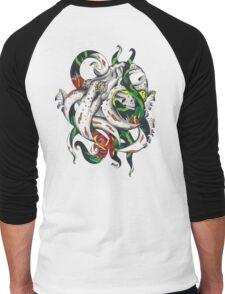 Rosey tentacles Men's Baseball ¾ T-Shirt