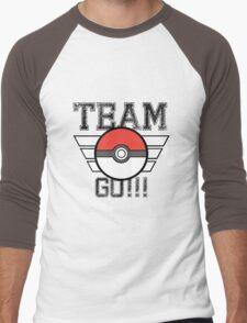 Team GO! Men's Baseball ¾ T-Shirt