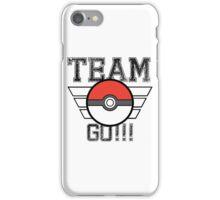 Team GO! iPhone Case/Skin