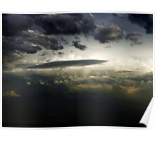 Unidentified Flying Clouds Poster