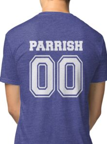 Parrish 00 - White  Tri-blend T-Shirt