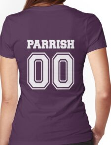 Parrish 00 - White  Womens Fitted T-Shirt