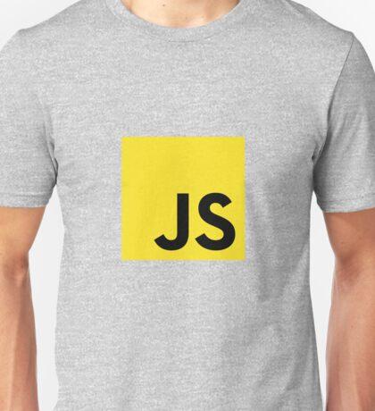 JavaScript logo Unisex T-Shirt