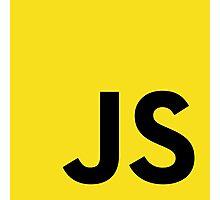 JavaScript logo Photographic Print