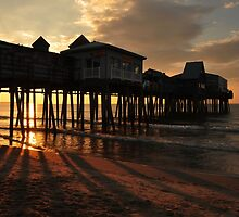 Shadows & Reflections (Pier Sunrise) by Poete100