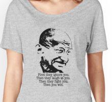 Gandhi Women's Relaxed Fit T-Shirt