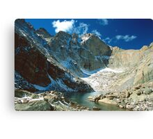 Chasm Lake Canvas Print
