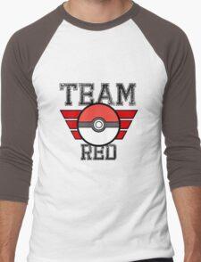 Team RED! Men's Baseball ¾ T-Shirt
