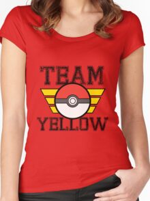 Team YELLOW! Women's Fitted Scoop T-Shirt