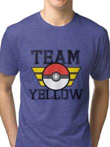 Team YELLOW! Tri-blend T-Shirt
