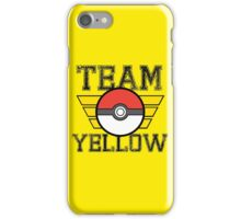 Team YELLOW! iPhone Case/Skin