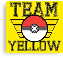 Team YELLOW! Canvas Print