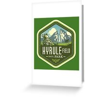 Hyrule National Park Greeting Card