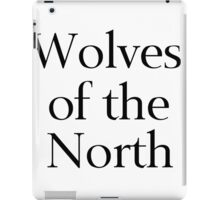 Wolves of the North iPad Case/Skin