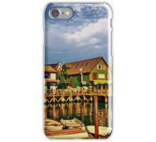 Port Clyde Waterfront iPhone Case/Skin