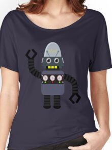 Funny robot Women's Relaxed Fit T-Shirt