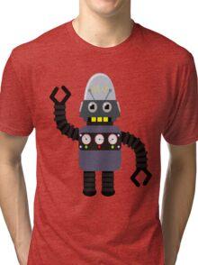 Funny robot Tri-blend T-Shirt