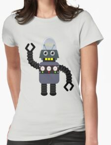 Funny robot Womens Fitted T-Shirt