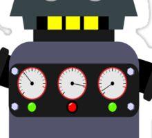Funny robot Sticker