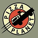 Pizza Planet Express by Grant Thackray