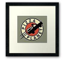 Pizza Planet Express Framed Print