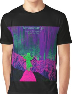 new dinosaur jr give a glimpse of what yer not album covers tour 2016 boncu Graphic T-Shirt