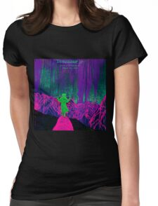new dinosaur jr give a glimpse of what yer not album covers tour 2016 boncu Womens Fitted T-Shirt