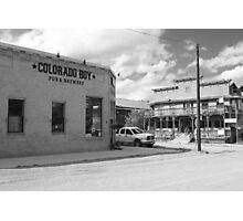 Colorado Boy Photographic Print