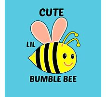 Cute Lil Bumble Bee Photographic Print