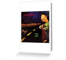 dinosaur jr where you been artwork boncu Greeting Card
