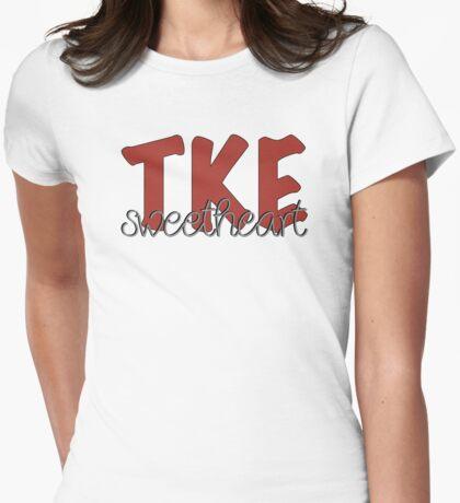 TKE Sweetheart Womens Fitted T-Shirt