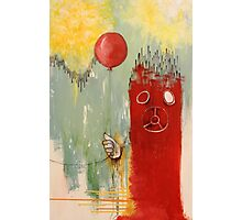 Balloon Bystander Photographic Print