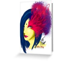 Fabulous Lashes Greeting Card