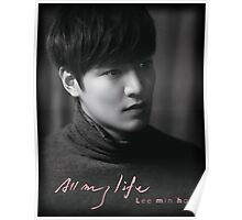 All My Life Lee Min Ho Poster