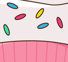 Happy Cupcake Sticker