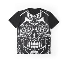Skull & Roses Graphic T-Shirt