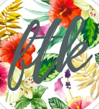 Tropical FTK Sticker